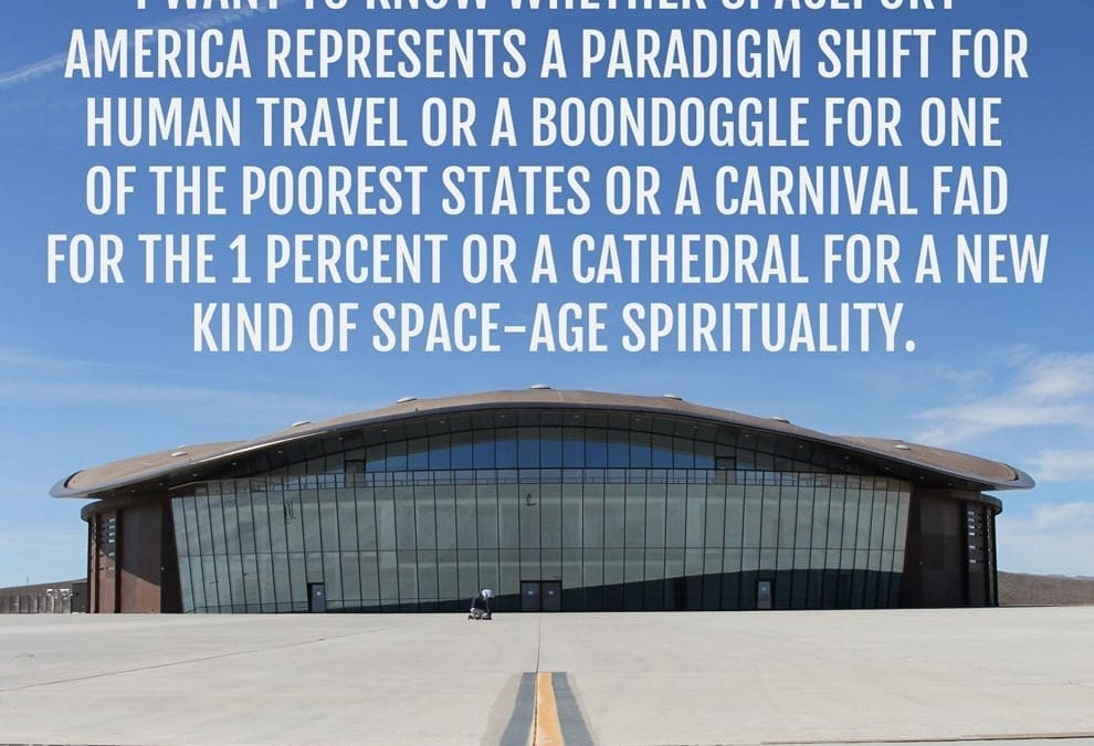 Time's up for Spaceport America