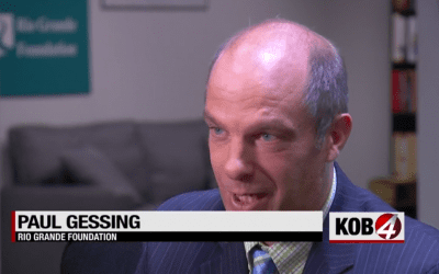 RGF breaks story to KOB TV about New Mexico's $164 million food stamp overpayments