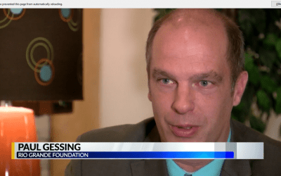 RGF president Paul Gessing discusses APS proposed property tax hike with KRQE Channel 13