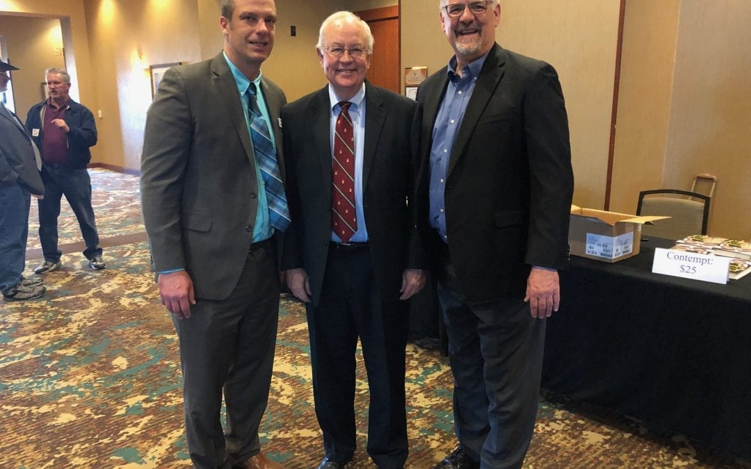 Pics from Rio Grande Foundation luncheon event with Ken Starr
